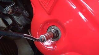 Как проверить кислородный датчик на Mazda Demio
