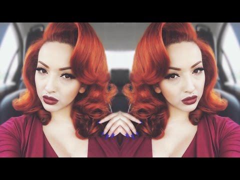 pin-up-glam-|-voluminous-hair-tutorial