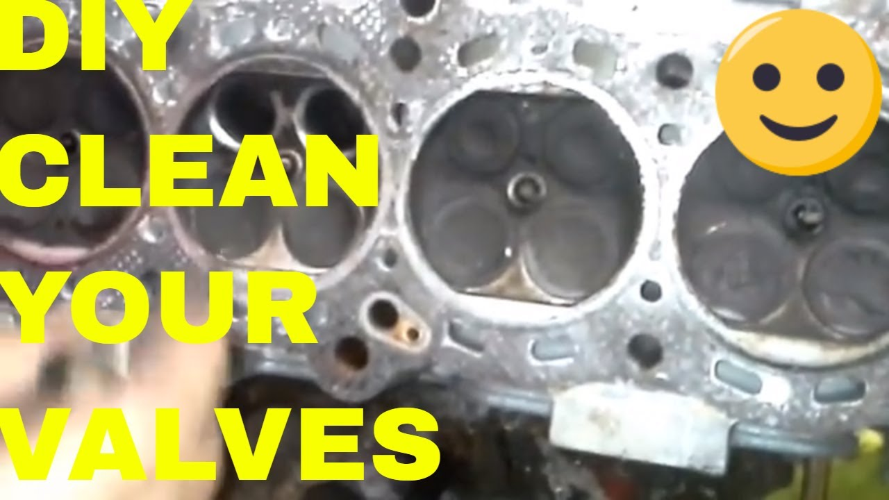 How to Fix Burnt Valves/ Grinding and Installing/Cleaning Carbon Buildup