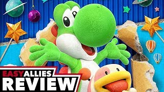 Yoshi's Crafted World - Easy Allies Review (Video Game Video Review)