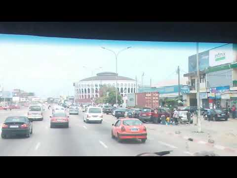 Une visite au palais des sport à Abidjan