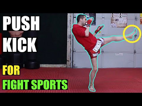 How to Push Kick | Kwonkicker
