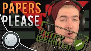 PASSPORT CONFISCATION! (Papers Please) #8