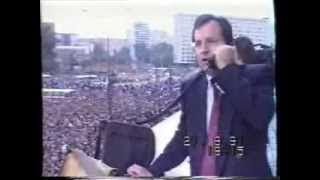 Москва. Путч. 1991 г. ТВ Сибирь( фрагмент) опера...