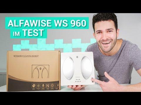 Alfawise WS 960 - Fensterwischroboter Test & Review