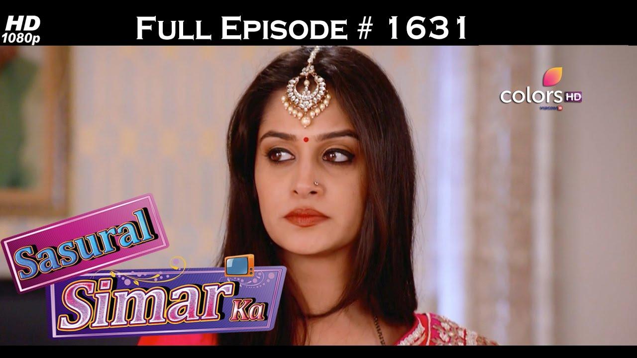 Download Sasural Simar Ka - 13th October 2016- ससुराल सिमर का - Full Episode (HD)