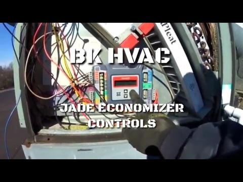 Jade Economizer controls.     #BKHVAC