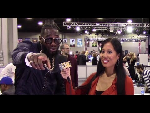 """DEONTAY WILDER'S LATEST INTERVIEW """"I FROZE ANTHONY JOSHUA OUT!"""""""