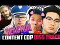 Reacting To RiceGum- Frick Da Police *Third Verse?!