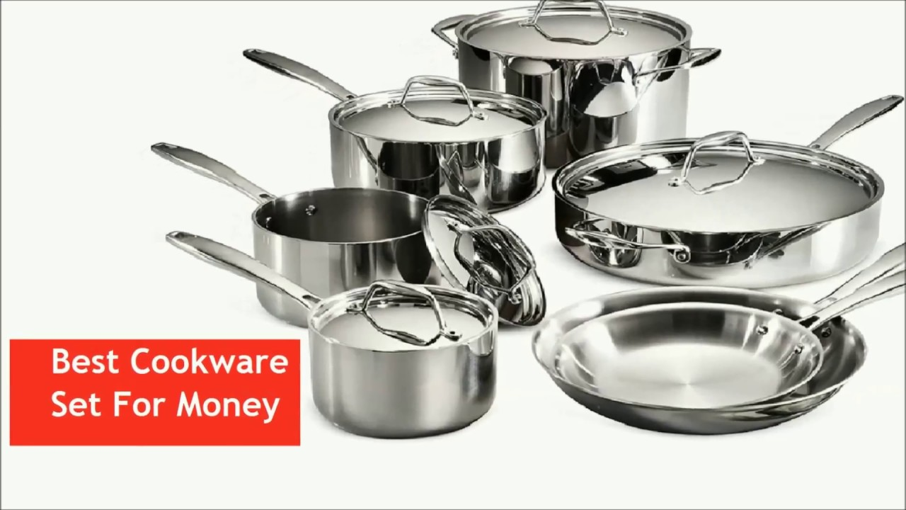 Tramontina Tri Ply Clad Cookware Set