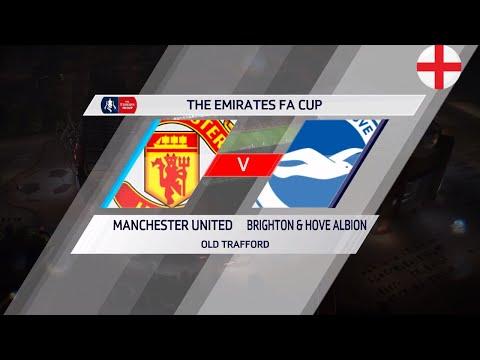 """FIFA 18: Manchester United Vs Brighton & Hove Albion  """"The Emirates FA Cup"""""""
