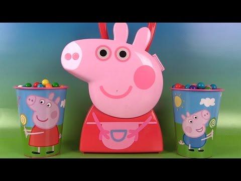 Peppa Pig Boîte d'accessoires Oeufs Surprises Bubble Gum Tsum Tsum