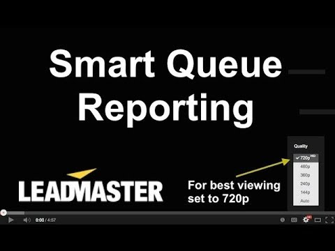 Smart Queue Reporting and Fields - YouTube
