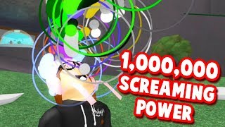 ROBLOX SHOUTING SIMULATOR *LOST MY VOICE*