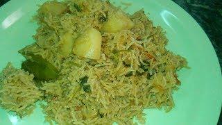 உருளைக்கிழங்கு பிரியாணி செய்வது எப்படி?/ How To Make Potato Biriyani / Sherin