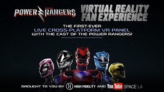 Power Rangers Virtual Reality Fan Experience Livestream