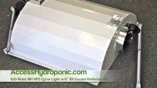 600w MH HPS Grow Light Kit - How To Set Up A Grow Light Kit