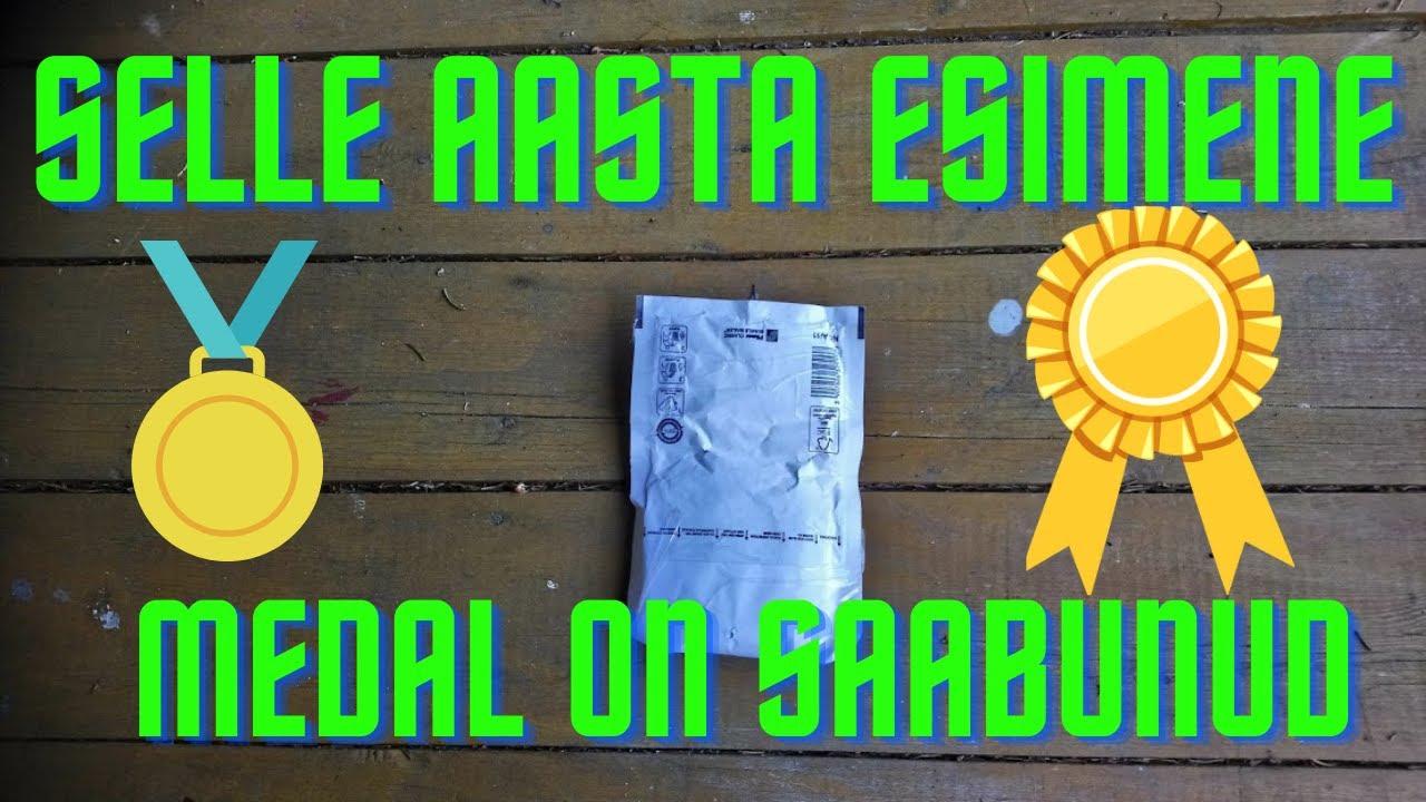 """Unboxing """"Selle aasta esimene medal on saabunud!"""""""