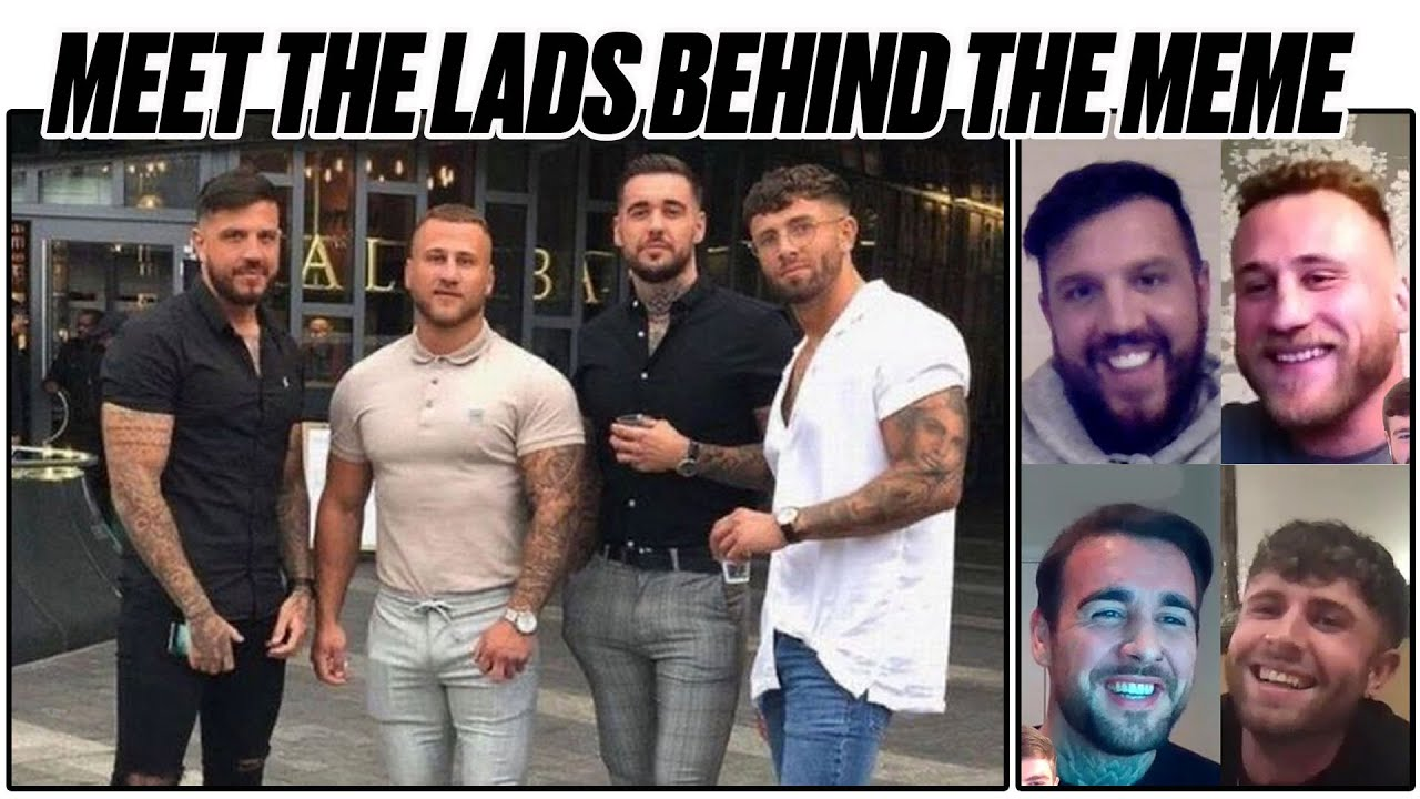 'Four Lads In Jeans' From Viral Meme Give Exclusive Interview | LADbible