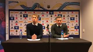 Presskonferens efter ÖFK-Örebro