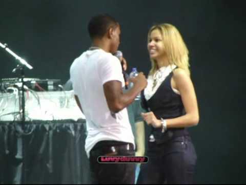 "Trey songz ""Say Ahh"" LIVE-103.5 Kiss fm Fantabuloso 5/21/10"