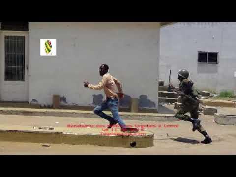 La babarie militaire sur les populations de Lomé et de l'intérieur du pays.