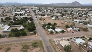 Van horn, Texas drone view