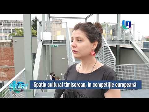 TeleU: Spațiu cultural timișorean, în competiție europeană