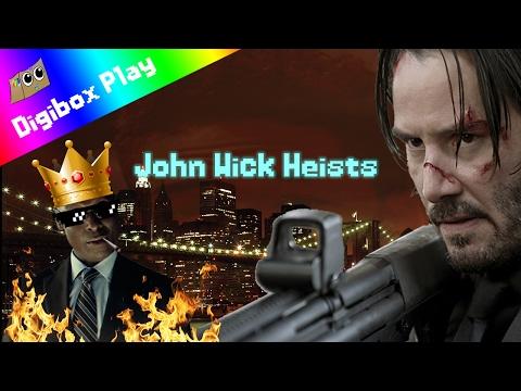 John Wick Deleted Scenes! | Payday 2 John Wick Heists