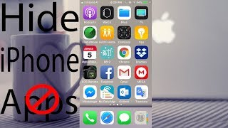 How to Hide Your iPhone Apps without downloading any App 2018