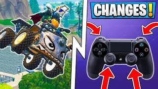 *ALL* Fortnite 6.1 Changes! | Quadcrasher Gameplay, Controller Big Change, Update!