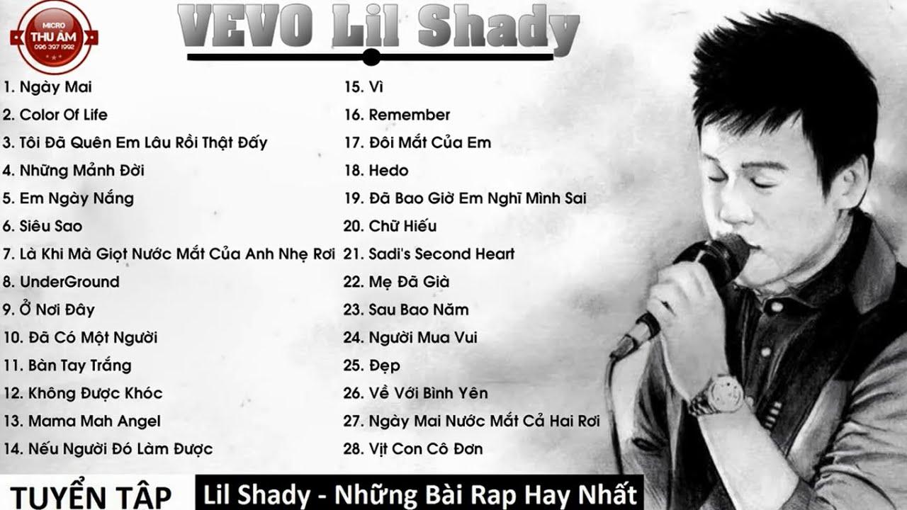 Lil Shady – Những Bài RAP Làm Nên Tên Tuổi Lil Shady