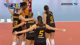 Galatasaray SK ISTANBUL outlast Dinamo MOSCOW in a rally that is not for the faint-hearted