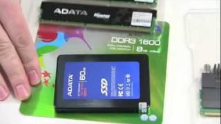 ADATA Speicher DDR3 RAM und ein 60 Gb SSD 511 / Unboxing