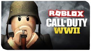 CALL OF DUTY: WWII В РОБЛОКС !!! | ROBLOX ПО РУССКИ |