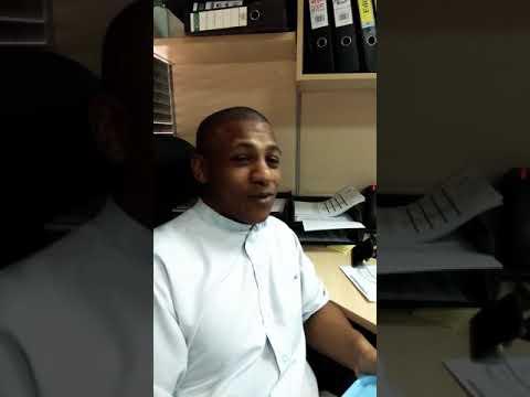 Teaching English in Saudi Arabia - Saudi Student speaking in African American accent