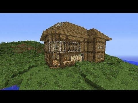 Budowle w Minecraft - Planet Minecraft - ''Prosty Domek ...  Budowle w Minec...