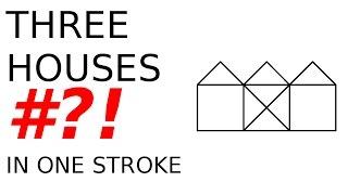 Gambar cover One stroke THREE HOUSES