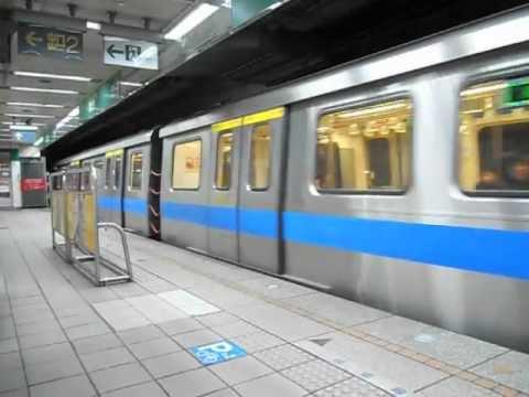 臺北捷運C301型&C371型300系[下午加班]&[正班]新店線七張站進出站[2/2] - YouTube