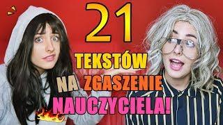 21 TEKSTÓW NA ZGASZENIE NAUCZYCIELA!  Szanella
