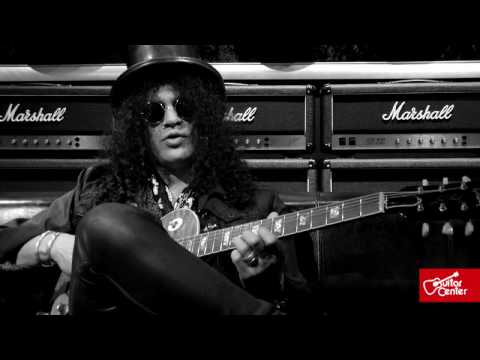Slash: At Guitar Center, Technique and Style