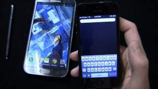 Samsung Galaxy Note II vs. Apple iPhone 5 Dogfight Part 1