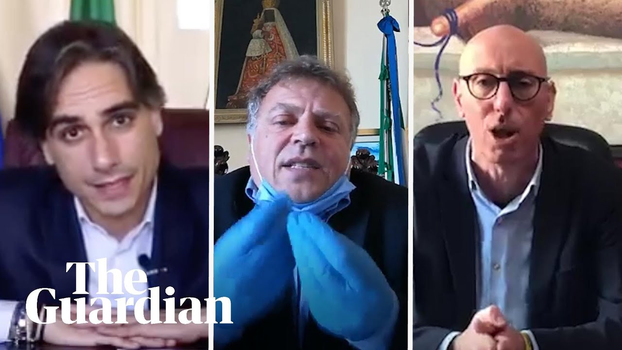 'Stay at home!': Italian mayors send emotional plea to residents — video
