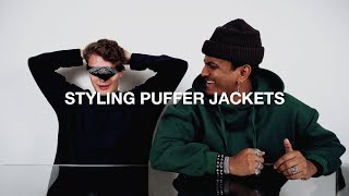 3 Ways To Style Puffer Jackets | £50 Challenge | Style Swap | Black Friday Special