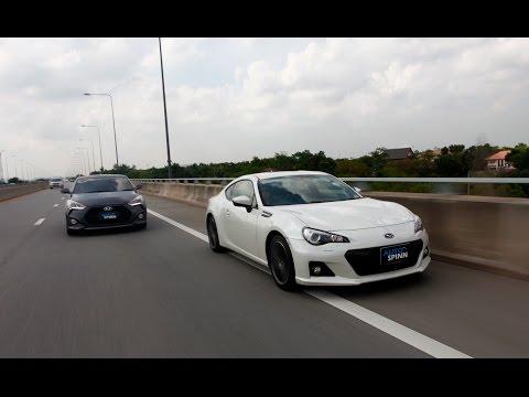 2016 Hyundai Veloster Turbo VS. Subaru BRZ 6AT    VS.