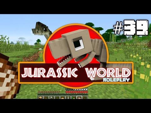 Minecraft Jurassic World: First Aquatic Dinos & LittleFoot! (39) Dinosaurs Roleplay