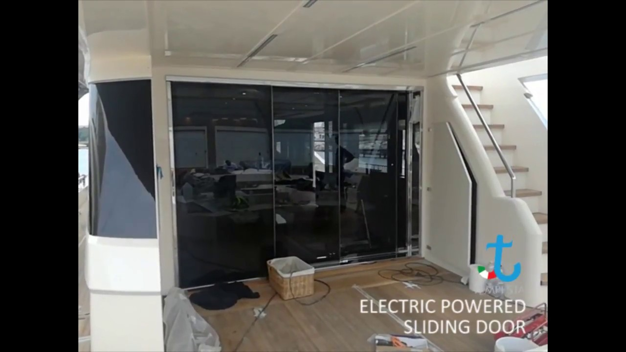 Electric Powered Sliding Door Youtube