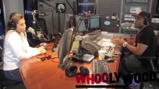 LAUREN LONDON vs DJ WHOO KID on the WHOOLYWOOD SHUFFLE on SHADE 45
