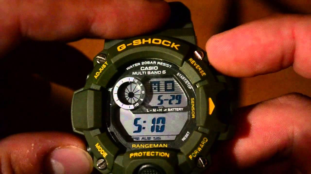 Casio G-Shock GA-110BG (fake) compare to original, сравнение копии .