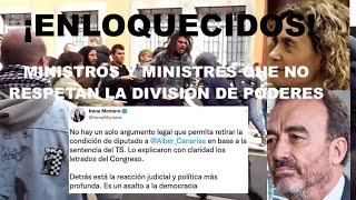 ¡RABIA HISTÓRICA Y DESENFRENADA DE PODEMOS TRAS LA EXPULSIÓN DE SU DIPUTADO ALBERTO RODRÍGUEZ!